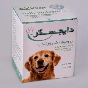 مکمل غذایی پروبوتیک سگ و گربه دایجسکر | پرشین پت لند