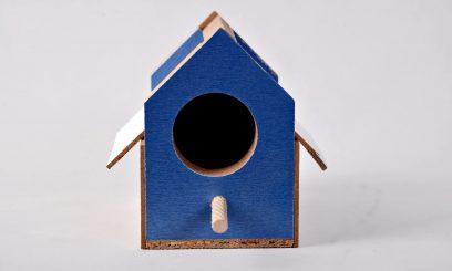 آشیانه چوبی فنچ |پرشین پت لند
