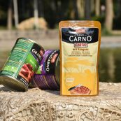 پوچ سگ بالغ گرن کارنو اگزوتیک حاوی گوشت کانگورو 125 گرمی | ایران چکاوک