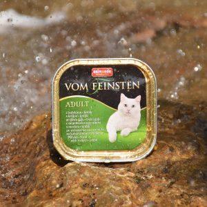 غذای کاسه ای گربه بالغ ووم فيستن حاوی گوشت بوقلمون و خرگوش | ایران چکاوک