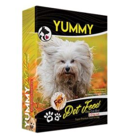 غذای خشک سگ مو بلند یامی وزن 2 کیلوگرم | پرشین پت لند
